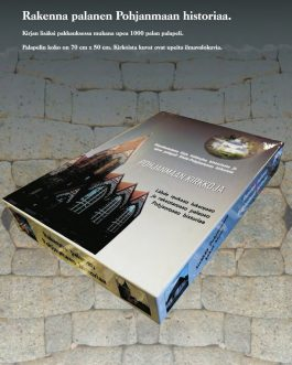 Pohjanmaan kirkkoja kirja ja palapeli