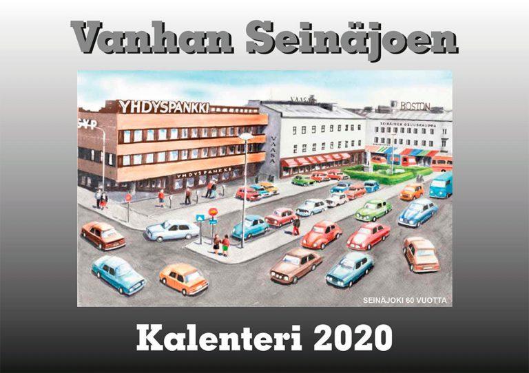 Read more about the article VANHAN SEINÄJOEN KIRJAKALENTERI VUODELLE 2020 ON ILMESTYNYT