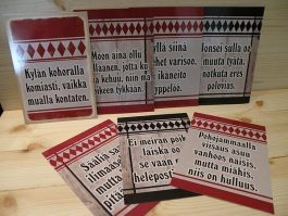 Etelä-Pohojalaaset postikortit