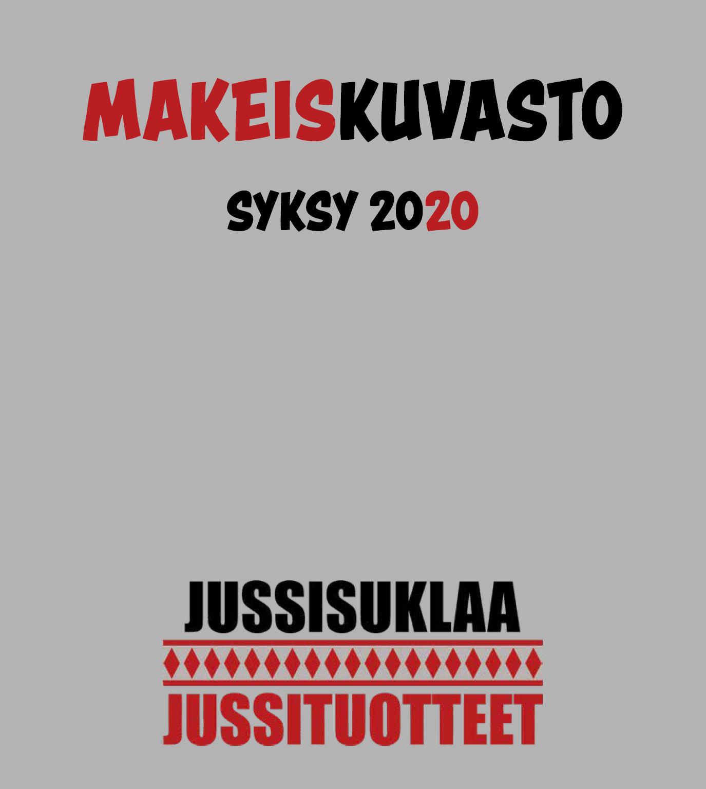 Syksyn 2020 makeiskuvasto